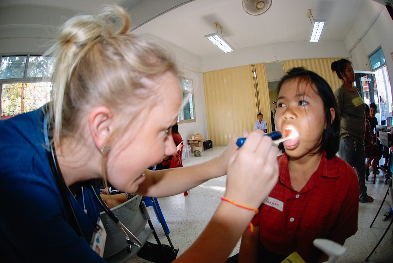 Help underprivileged communities in medical centres in rural Thailand